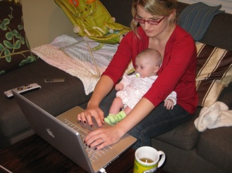 Maternity Multitasking