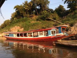 Mekong Boat Luang Prabang